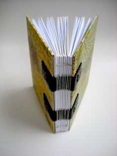 SOLD Spine view of Victorian Italian Map Journal.