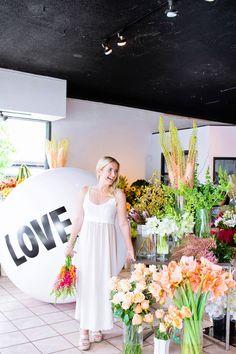 Monika Hibbs shows Big Love Ball around town | Photographed by Jamie Lauren