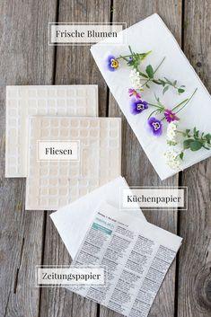 DIY Basics: So trocknest du ganz einfach Blumen ohne Blumenpresse in 2 Minuten!