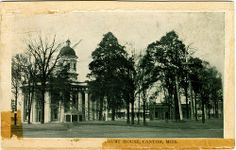 Court House, Canton, Miss.