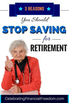 Should you stop saving money for retirement?  Yeah, I know it sounds crazy, but…