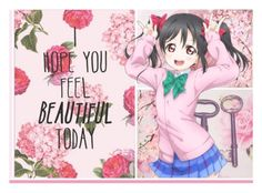 """""""I Hope You Feel Beautiful Today"""" by josi-heart ❤ liked on Polyvore featuring art"""