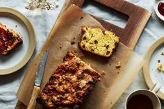 Molly Yeh's Dark Chocolate Marzipan Scone Loaf