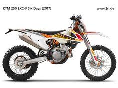 """KTM 250 EXC-F """"Six Days"""" (2017)"""