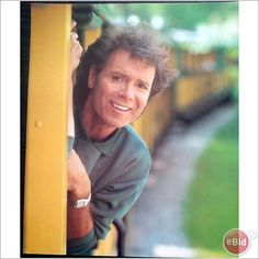Cliff Richard pin up poster 13 Disney on a train
