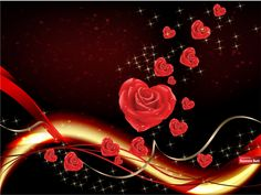 Valentine Roses And Hearts 47