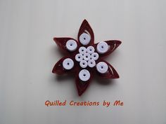 Quilled fridge magnet made by Quilled Creations by Me