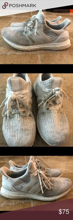 3865f4f6f5e Adidas Ultra Boost White Women s 8.5 White Adidas Ultra Boost. Women s 8.5.  Still very