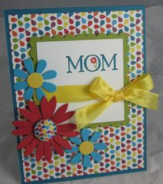 Summer Smooches / Loved Ones / Stampin' Up / Mom / Mother's Day / Blossom Party