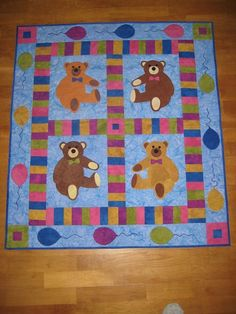 Vote Now: Teddy Bear Quilts - Quilting Gallery /Quilting Gallery