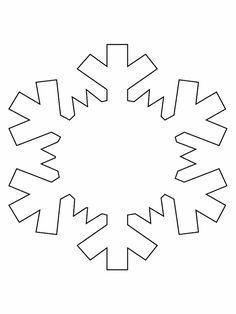 Disegno fiocco di neve frozen
