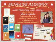 """Obradoiro """"Soños de algodón"""", con Amalia P. Otero e Alba Grimaldi - 13 de Abril de 2012 - Na Axencia de Lectura de Chapela"""