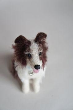 Hey, I found this really awesome Etsy listing at https://www.etsy.com/listing/161307634/needle-felted-shepherd-wool-dog-felt