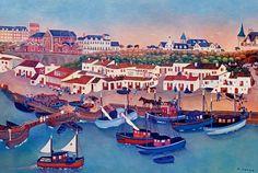 Village et port des pêcheurs de Biarritz Henri Lauga