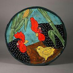 Large Chicken Platter: Deb Stabley