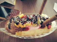ice cream banana