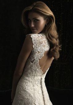Stella York 6245 Florence romantic floaty lace wedding dress key ...
