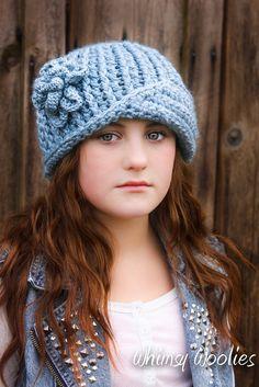Crochet Pattern: 'Vintage Twist' Hat Crochet by whimsywoolies