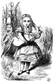 Sir John Tenniel's Classic Illustrations of Alice's Adventures in Wonderland – Alice's Adventures In Wonderland – Medium