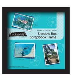 "8""x8"" Shadowbox Frame-Black"