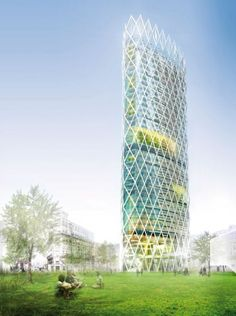 Tour Issygreen - Jacques Ferrier architecture