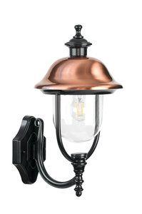 Verona Ii Wandlamp Staand Zwart Wandlamp Verona Tuinverlichting