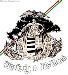 Hungarian Tattoo, Hungary History, German Uniforms, Heart Of Europe, Illustrations And Posters, Coat Of Arms, Tattoo Designs, 1, Life