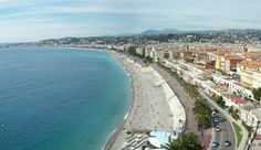 Nice, France. Just about anyone who has been to Nice has this shot, understandable so. It's a beautiful view of the city and La Promenade Des Anglais