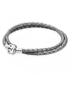 leather - buy fabulous pandora bracelets unique moments, leather, rose gold and silver designs, up to off all the latest must have looks! Pandora Uk, Cheap Pandora, Pandora Jewelry, Pandora Rope Bracelet, Silver Bracelets, Pandora Leather, Black Leather Bracelet, Silver Lockets, Braided Leather