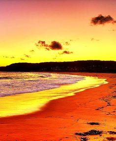 Tapeta Putty beach,Australia: