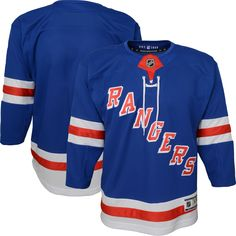 NHL Youth New York Rangers Premier Home Jersey 9087b593e