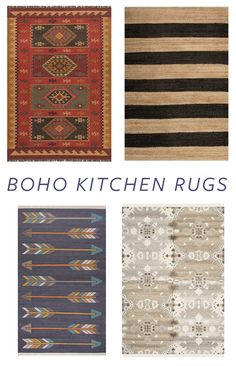 Boho Rugs to Update Your Kitchen | Trend Center by Rugs Direct
