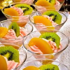 Delicious interactive wedding receptions - food stations