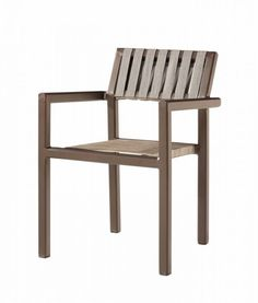 Amber Outdoor Dining Chair With Arms
