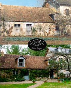 Mill Cottage Before & After French Style Homes, Country Style Homes, French Interior, Le Moulin, Home Remodeling, Interior And Exterior, Building A House, Restoration, Buildings