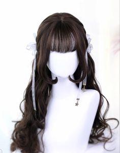 Kawaii Hairstyles, Modern Hairstyles, Wavy Hairstyles, Hairstyle Men, Beautiful Hairstyles, Hairstyle Ideas, Wedding Hairstyles, Japanese Hairstyles, Modern Haircuts
