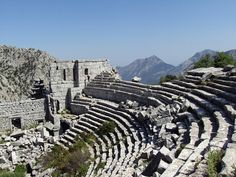 Antalya What to do and see - Go to the historical site of Termessos