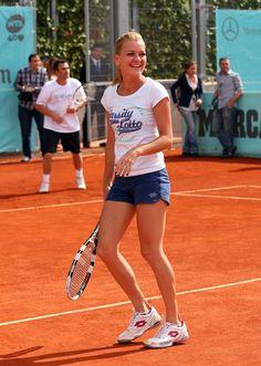 Agnieszka Radwanska @ Mutua Madrid Open 2013 #WTA