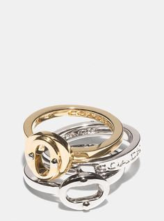 LOVING this stacking ring set! #wishlist