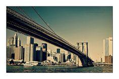 NYC Brooklyn Bridge by Vincent_AF, via Flickr