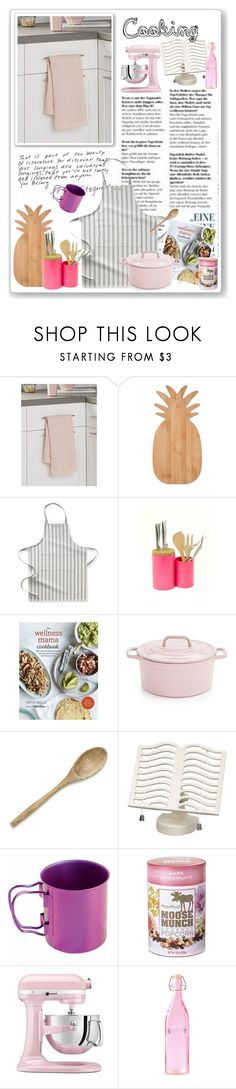 """Untitled #1038"" by tamara-40 ❤ liked on Polyvore featuring interior, interiors, interior design, home, home decor, interior decorating, Cooks Tools, Williams-Sonoma, .wireworks and Martha Stewart"
