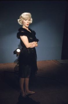 Marilyn Monroe in a costume test for Some Like It Hot, 1958.