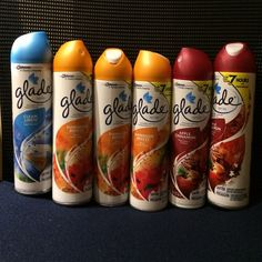 Glade air fresheners hot commercial redhead can look