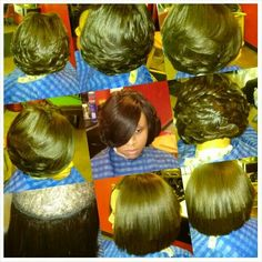Layered Quick weave