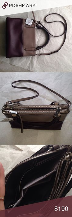 """COACH Retro Block Crossbody NWT Classic color block Crossbody. Great for on-the-go and vacations. Silver tone hardware. Removeable strap. Measurements ~7 3/4"""" x 10"""". Handle ~4"""" drop, Strap ~21"""" including clasps. Coach Bags Crossbody Bags"""
