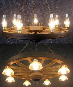 Do you love a western decor theme? Perfect lighting for your country style home.