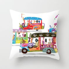 Throw Pillows Divisoria : 1000+ images about jeepney on Pinterest Philippines, The philippines and Art sketches