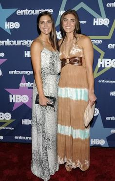 Lovely Ladies of the USA Soccer Team: Alex Morgan and Hope Solo Prom Dresses, Formal Dresses, Wedding Dresses, Alex Morgan, Morgan Usa, Female Soccer Players, Morgan Dress, Beautiful Athletes, Hope Solo
