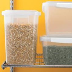 8 best Bulk food storage images on Pinterest Kitchen pantry