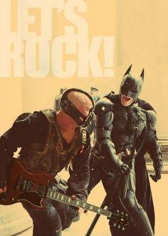 Dark Knight Rises Meme (Let's Rock)